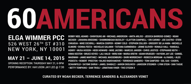 60 Americans group show