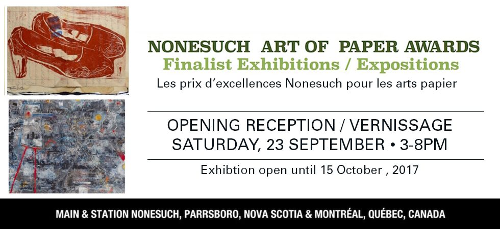 nonesuch art of paper awards 2017