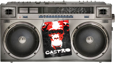 Mighty Joe Castro music podcast boombox