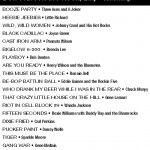 Dont Knock the Rock Billy rockabilly podcast tracklisting