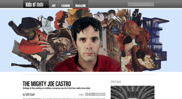 Kids of Dada interview with Joe Castro