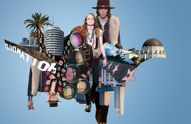 GQ Style Los Angeles designer collage