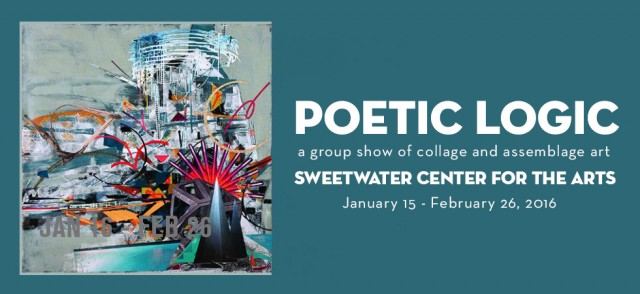 Poetic Logic group collage exhibit