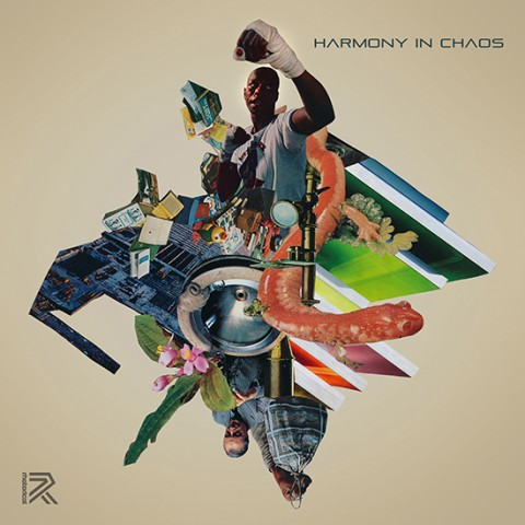 Harmony in Chaos record cover by Joe Castro