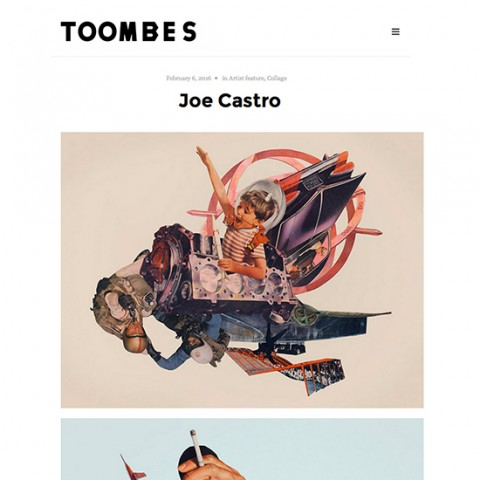 Toombes web feature on Joe Castro