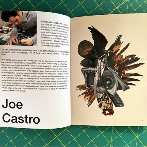 Cult of Life issue 6 zine featuring Joe Castro