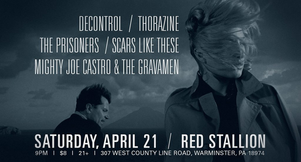 MIghty Joe Castro and the Gravamen at Red Stallion warminster PA