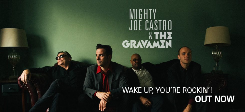 Mighty Joe Castro and thr Gravamen EP out Now