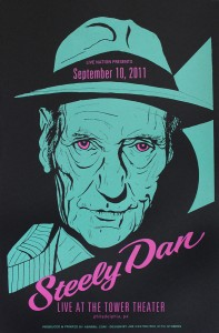 Steely Dan poster by Joe Castro
