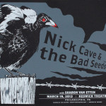 Nick Cave and the Bad Seeds poster Joe Castro