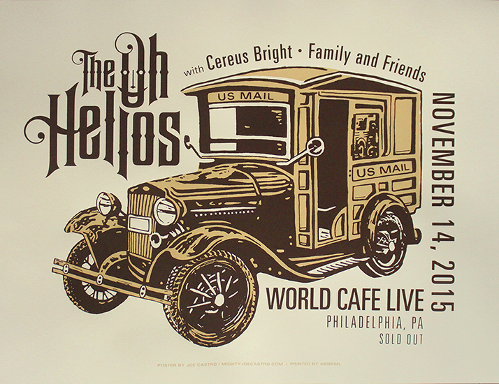 Post #1193 – The Oh Hellos