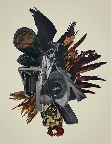 Burn in Self Effigy collage Joe Castro