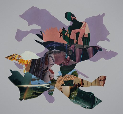 Truce by collage artist Joe Castro