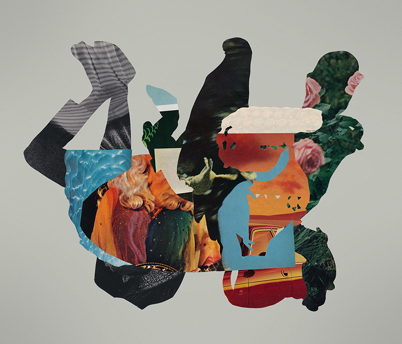 whatever whenever collage art by Mighty Joe Castro