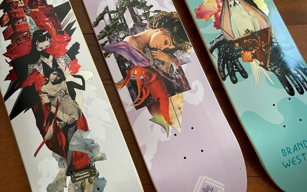 Cut and Paste series for Element Skateboards (Post 1307)